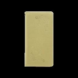 Huawei P20 Lite - Preklopna torbica (WLGO-Butterfly) - zlata