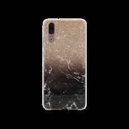 Huawei P20 - Gumiran ovitek (TPUP) - Marble 1