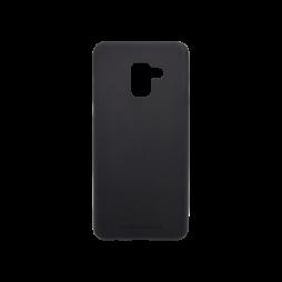 Samsung Galaxy A8 (2018) - Gumiran ovitek (TPUT) - črn