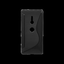 Sony Xperia XZ2 - Gumiran ovitek (TPU) - črn CS-Type