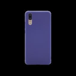 Huawei P20 - Gumiran ovitek (TPU) - moder MATT
