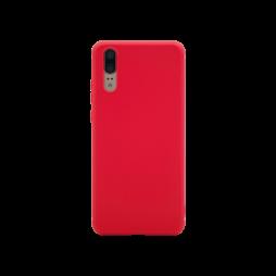 Huawei P20 - Gumiran ovitek (TPU) - rdeč MATT
