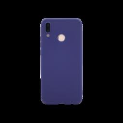 Huawei P20 Lite - Gumiran ovitek (TPU) - moder MATT