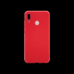 Huawei P20 Lite - Gumiran ovitek (TPU) - rdeč MATT