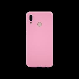 Huawei P20 Lite - Gumiran ovitek (TPU) - svetlo roza MATT