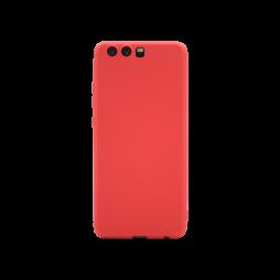 Huawei P10 - Gumiran ovitek (TPU) - rdeč MATT