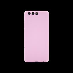 Huawei P10 - Gumiran ovitek (TPU) - svetlo roza MATT