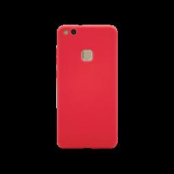 Huawei P10 Lite - Gumiran ovitek (TPU) - rdeč MATT