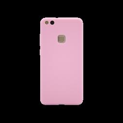 Huawei P10 Lite - Gumiran ovitek (TPU) - svetlo roza MATT