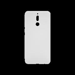 Huawei Mate10 Lite - Gumiran ovitek (TPU) - belo-prosojen MATT