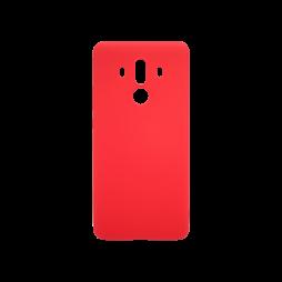 Huawei Mate10 Pro - Gumiran ovitek (TPU) - rdeč MATT