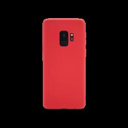Samsung Galaxy S9 - Gumiran ovitek (TPU) - rdeč MATT