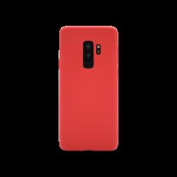 Samsung Galaxy S9+ - Gumiran ovitek (TPU) - rdeč MATT