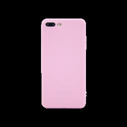 Apple iPhone 7/8 Plus - Gumiran ovitek (TPU) - svetlo roza MATT