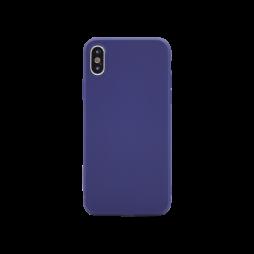Apple iPhone X - Gumiran ovitek (TPU) - moder MATT
