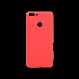 Huawei P Smart - Gumiran ovitek (TPU) - rdeč MATT