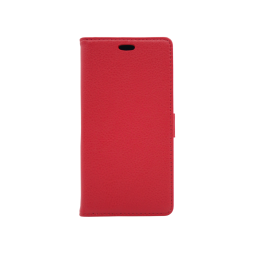 Motorola Moto X4 - Preklopna torbica (WLG) - rdeča