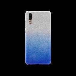 Huawei P20 - Gumiran ovitek (TPUB) - modra