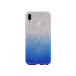 Huawei P20 Lite - Gumiran ovitek (TPUB) - modra