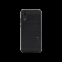 Huawei P20 - Gumiran ovitek (ARM-01) - črn