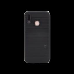 Huawei P20 Lite - Gumiran ovitek (ARM-01) - črn