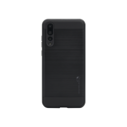 Huawei P20 Pro - Gumiran ovitek (ARM-01) - črn