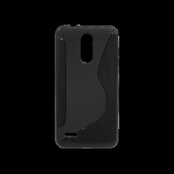LG K8 (2018)/K9 - Gumiran ovitek (TPU) - črn CS-Type