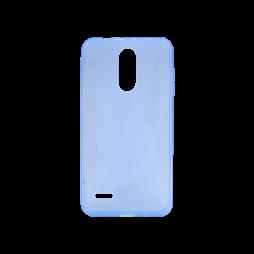 LG K8 (2018)/K9 - Gumiran ovitek (TPU) - modro-prosojen CS-Type