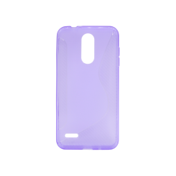 LG K8 (2018)/K9 - Gumiran ovitek (TPU) - vijolično-prosojen CS-Type