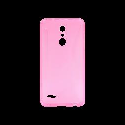 LG K10 (2018) / K11 - Gumiran ovitek (TPU) - roza-prosojen CS-Type