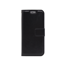 Apple iPhone 5/5S/SE - Preklopna torbica (WLC) - črna