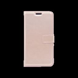 LG K8 (2017) - Preklopna torbica (WLC) - roza-zlata