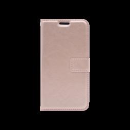 LG K8 (2018)/K9 - Preklopna torbica (WLC) - roza-zlata