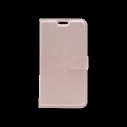 Huawei P9 Lite mini - Preklopna torbica (WLC) - roza-zlata