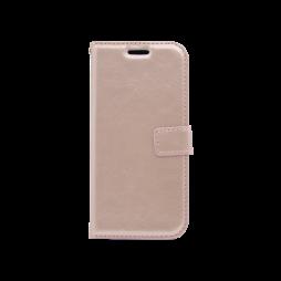 Huawei P10 - Preklopna torbica (WLC) - roza-zlata