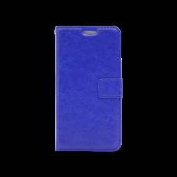 Huawei P10 Lite - Preklopna torbica (WLC) - modra