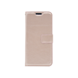 Samsung Galaxy A3 (2017) - Preklopna torbica (WLC) - roza-zlata