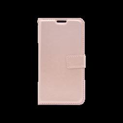 Samsung Galaxy J3 (2017) - Preklopna torbica (WLC) - roza-zlata