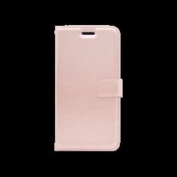 Samsung Galaxy J7 (2017) - Preklopna torbica (WLC) - roza-zlata
