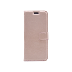 Samsung Galaxy S9+ - Preklopna torbica (WLC) - roza-zlata