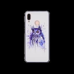 Huawei P20 Lite - Gumiran ovitek (TPUP) - Owl