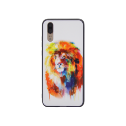 Huawei P20 - Gumiran ovitek (TPUP) - Lion