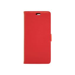 Huawei Y6 (2018) - Preklopna torbica (WLG) - rdeča