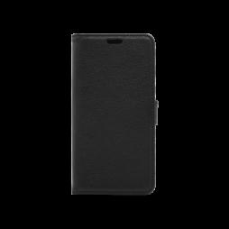 LG Q7 - Preklopna torbica (WLG) - črna