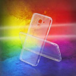Samsung Galaxy J6 - Gumiran ovitek (TPUA) - prosojen
