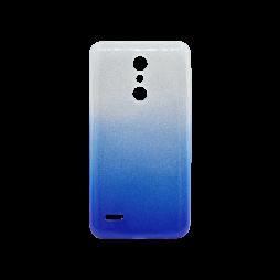 LG K10 (2018) / K11 - Gumiran ovitek (TPUB) - modra