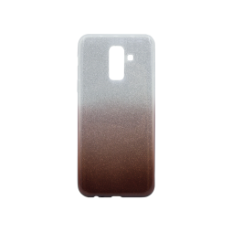 Samsung Galaxy A6+ (2018) - Gumiran ovitek (TPUB) - kavna