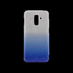 Samsung Galaxy A6+ (2018) - Gumiran ovitek (TPUB) - modra