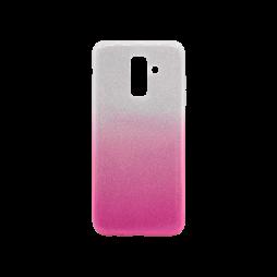 Samsung Galaxy A6+ (2018) - Gumiran ovitek (TPUB) - roza