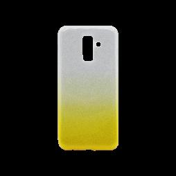 Samsung Galaxy A6+ (2018) - Gumiran ovitek (TPUB) - rumena